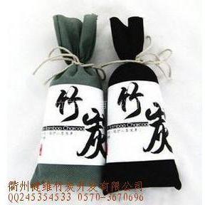 供应日式竹炭包 挂摆饰炭包 炭纤维 竹炭制品
