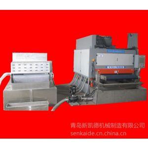 新凯德铝板拉丝机丨铝板抛光机-湿式丨湿式磨砂拉丝机