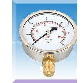 供应耐震双刻度压力表|双刻度压力表刻度|双刻度压力表量程接头