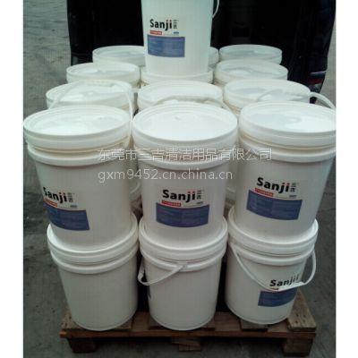 供应三吉橡胶地板保养蜡水价格 PVC橡胶地坪养护蜡批发 橡胶地面防护打蜡水