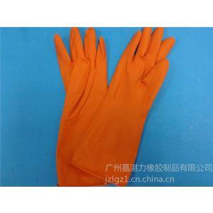 供应家用乳胶绒里手套