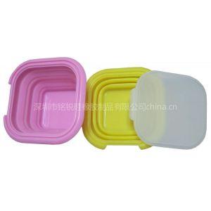 供应硅胶折叠碗/硅胶餐具