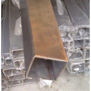 供应佛山桥大 304不锈钢矩形管规格5*35扁通35*