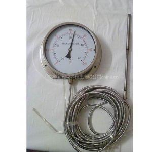 供应船舶压力式带软管温度计