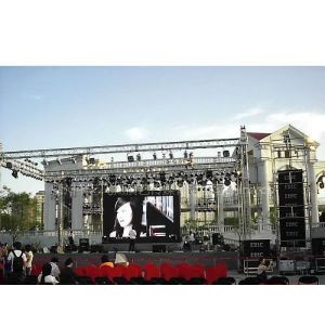 福州演出公司、福州舞台展台搭建、福州灯光音响租赁、福建背景制作桁架出租