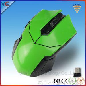 供应珠三角USB鼠标生产厂家 computer mouse shaped 游戏绿色鼠标