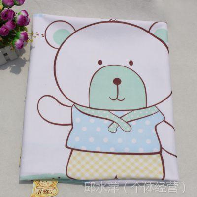 萌宝儿儿童大号90x70cm尿垫 宝宝防水透气隔尿垫 婴儿隔尿用品