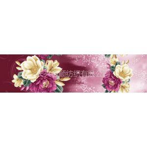 供应床上家纺套件面料的全涤化纤分散印花长兴磨毛布春亚纺桃皮绒
