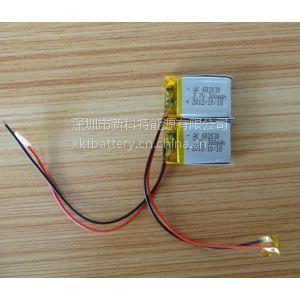 供应3.7v 300MAH 602030聚合物锂电池 移动小音箱共振音响mp3蓝牙电池