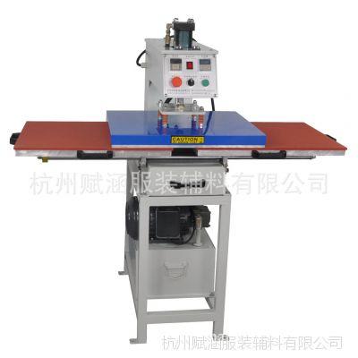全自动液压双工位设备承接各类衣服烫画定做 布料裁片烫画加工