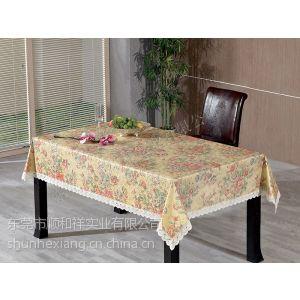 供应广东PVC 法兰绒桌布厂|PVC桌布批发|面PVC底贴针棉桌布