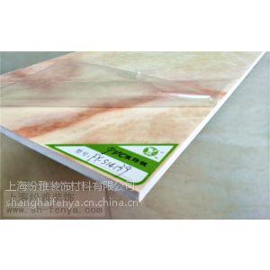 供应防水 PVC材质 仿大理石UV板 PVC装饰板 UVP板