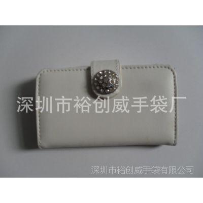 深圳龙岗厂家 专业生产 促销 PU手拿包 时尚手机包 外贸手机套