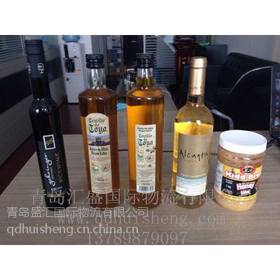 供应巴黎矿泉水法国红酒清关/西班牙橄榄油加拿大蜂蜜报关青岛汇盛进口报关代理