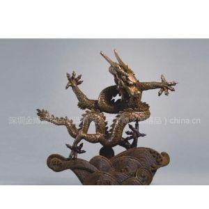 供应博之源-故宫九龙壁圆雕摆件,铜艺品,黄铜工艺品,铜艺摆件