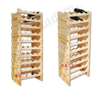 供应DIY红酒架实木红酒架创意红酒架定做红酒架定做红酒礼盒木盒