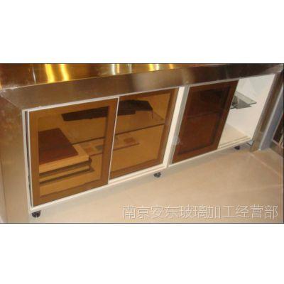 茶色玻璃 5mm厚度 8mm厚度茶色玻璃 典雅大气茶玻 家装必备