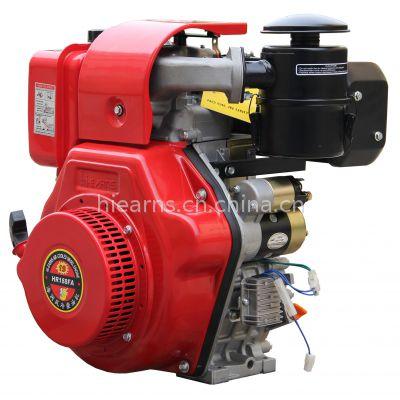 12马力 188FAE风冷单缸柴油机 电启动