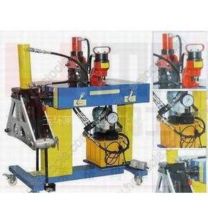 供应铜铝排母线加工机,液压压花机,MPCB-401