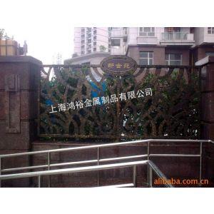 供应002款锻铁围栏户外栏杆阳台护栏铸铁栏杆铁艺