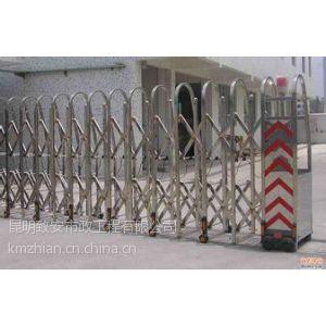 供应云南昆明交通设施优质电动伸缩门