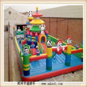 供应儿童游乐设备 室外儿童游乐充气城堡 游乐园室外设施