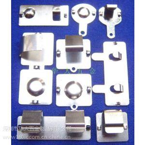 供应电池铜片,电池接触片五金接触片
