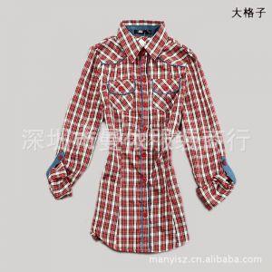 供应深圳外贸服装批发外贸韩版衬衫品牌女装