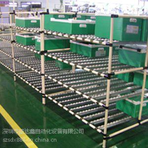 供应滑移式货架厂家 优质仓储设施流利条货架