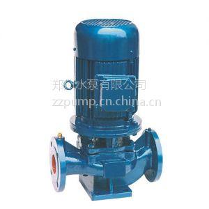 供应IRG型单级单吸立式热水泵