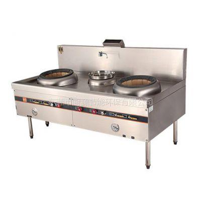厂家直销酒店厨房设备,不锈钢厨具,不锈钢双炒单尾炉