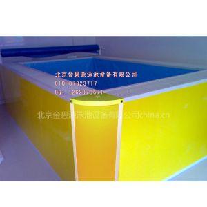 供应北京新款婴儿游泳池宝宝水池