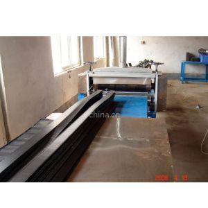 供应环保型电热熔套(带)生产线|18663975817|塑料下料机|塑料板折弯机