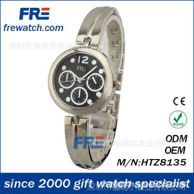 纯合金打造女士手表 休闲时尚手表 五度防水手表 进口机芯