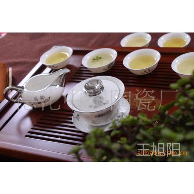 兰馨/功夫茶具套装/离子电镀/日用高档陶瓷茶具