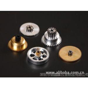 供应舵机齿轮 一体输出齿 铜齿轮 铝齿轮 不锈钢齿轮 精密复杂齿轮厂