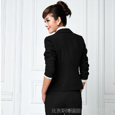 2014时尚气质OL职业装韩版修身女式套裙酒店秋装工作服小西装
