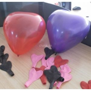 供应婚庆用心形气球 厂家直销 批发 款式多样 质量好