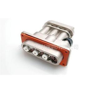 供应安费诺ePower系列电动汽车2芯或3芯矩形大电流连接器