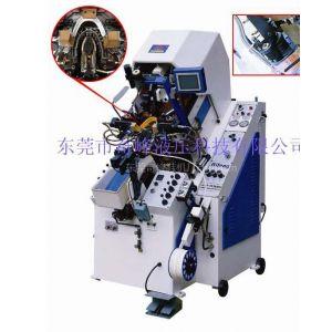 供应九爪油压自动上胶前帮机,奇峰制鞋机械