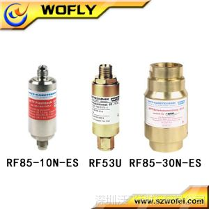 供应气体管道工程安装配件 威特 阻火器 RF53N 乙炔阻火器