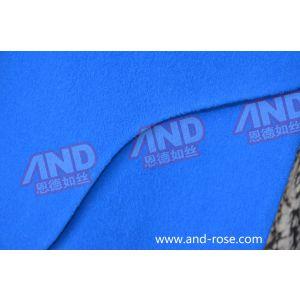 供应高级定制蓝色大衣韩版 14新款欧美长款大衣 女式羊绒大衣