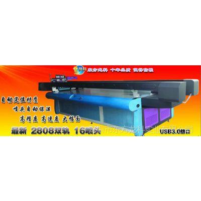 精度高速度又快的工业化uv平板打印机