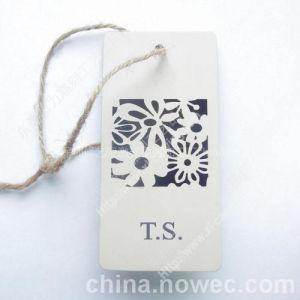 供应深圳服装辅料纸吊牌纸标牌激光镂空激光雕刻加工