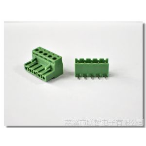 供应优质全铜环保插拔式接线端子2ELZK-5.08