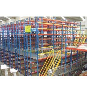 供应深圳搁楼式货架 易达厂订做平台货架
