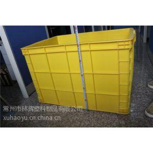供应厂家直供 常州防静电塑料周转箱 755大号整理箱 耐摔经用