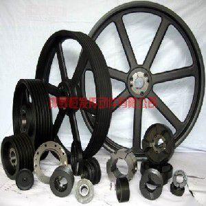 供应传动件: 恒发批发机械锥套式皮带轮