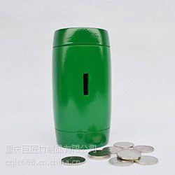 巨匠厂家专业定制高档工艺礼品竹制存钱罐 竹制直筒彩漆零钱罐