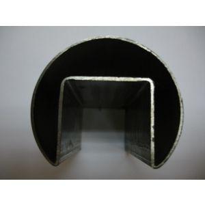 供应304不锈钢凹槽管
